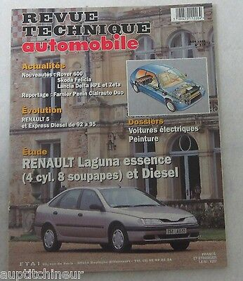 revue technique automobile RTA 574 1995 Renault Laguna essence 4 cyl. 8 s diesel