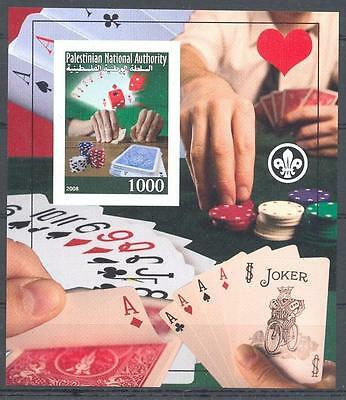 (045154) Bicycle, Scouting, Playing Cards, Palest.Authority - private issue -