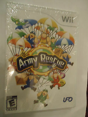 Army Rescue (Nintendo Wii, 2009) NEW
