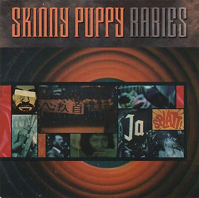 SKINNY PUPPY - Rabies Album Cover POSTER 12x12