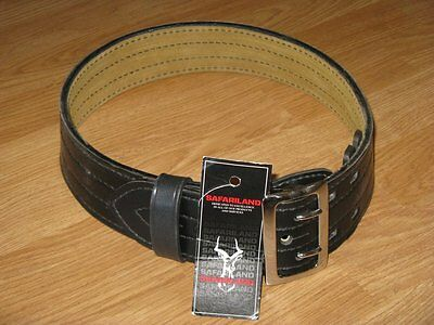 Safariland 872-28-6 Suede Lined Contoured Duty Belt w/ Chrome Buckle, 2.25""