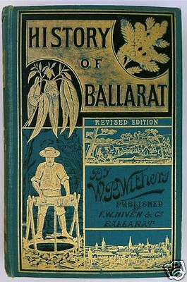 CD - Gold - History of Ballarat - 26 eBooks - Historical Maps & Pics