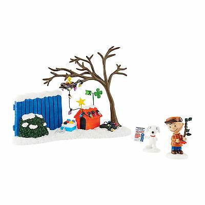 Peanuts Snoopy Charlie Christmas True Meaning of Christmas Set by Department 56