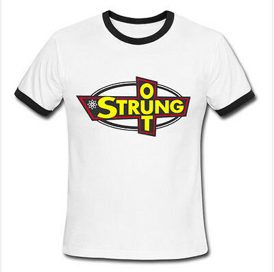 STRUNG OUT tee ringer JASON CRUZ punk rock band music S M L XL 2XL T-shirt