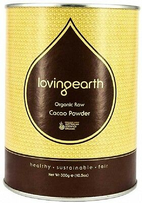 Loving Earth Raw Organic Cacao Powder 300g