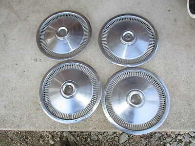 "Ford Mustang Ii 13"" Wheel Covers Hub Caps Set Of 4 Pinto Bobcat 75 76 77 78 74"