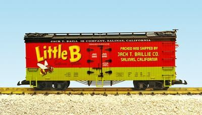 Usa Trains G Scale Little Bee Vegetables U.s. Refrigerator Reefer | Bn | R16462