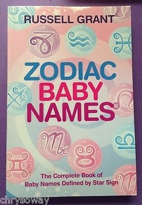 ZODIAC BABY NAMES-9781401923266-Russell GRANT