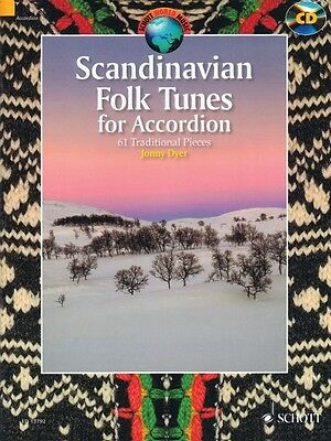 Scandinavian Folk Tunes for Accordion 61 Traditional Pieces - Book CD  049044902