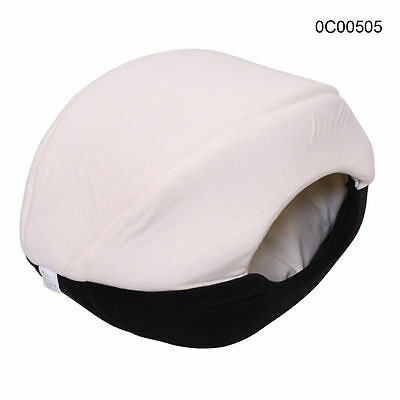 Dog Cat Cave Bed Pet Comfortable Soft Cuddly Sleeping Bed Black L Free Postage
