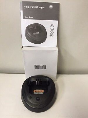 Motorola Rapid Rate Charger Base Only WPLN4137BR CP200, PR400 Portables