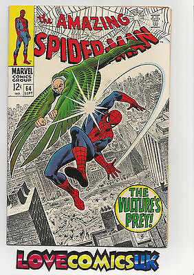 The Amazing Spider-Man #64 Silver Age Marvel Comics