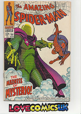 The Amazing Spider-Man #66 Silver Age Marvel Comics
