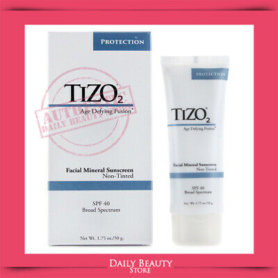 Tizo 2 Solar Protection Non Tinted Age Light Skin Tones SPF 40 1.75oz BRAND NEW