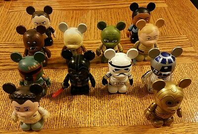 Disney Vinylmation - Star Wars Series 1 - Set of 12 - Includes Chaser