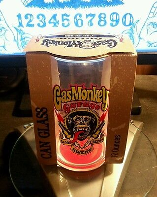 Gas Monkey Garage Beer Glass Drinking Glass Collectible Collector's Item Gift