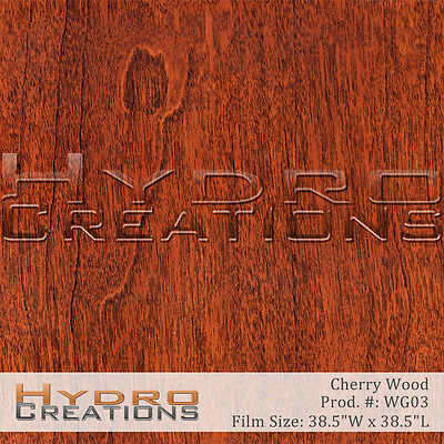 Hydrographic Film For Hydro Dipping Water Transfer Film Red Wood - Wood Grain