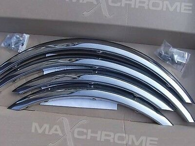 BMW 3 E46 Break / Berline année '98-05 Extensions d'aile 2 AV et 2 AR Chrome