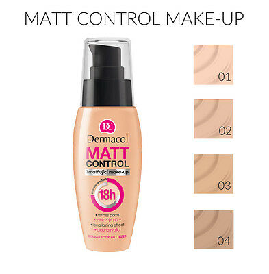 DERMACOL MATT CONTROL  MAKE UP  FOUNDATION 30ml