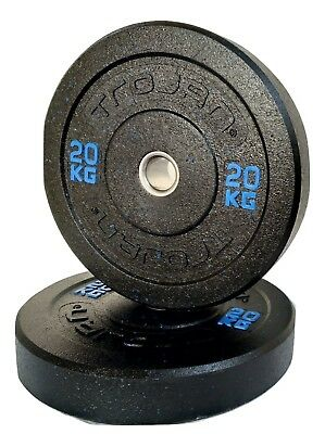 Bumper Plates Solid Rubber 20 Kg Sold In Pairs