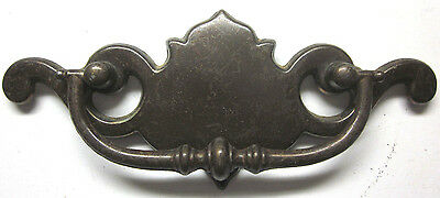 Vintage Antique Brass Chippendale Type Dresser Drawer Drop Bail Pull Handle 5.75