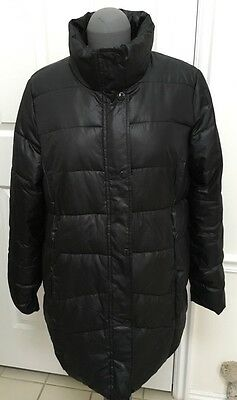 Old Navy Maternity Black Light Weight Puffer Jacket L