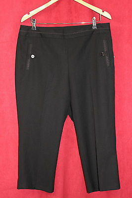 EP pro chantilly golf 3/4 shorts black Size 14