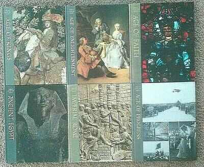 Time Life Great Ages of Man lot of 6 Rome Egypt Age of Kings Faith Enlightenment
