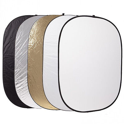 150 x 200 cm 5in1 Photography Reflector Disc Collapsible Photo Light 150x200cm