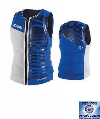 Impact Progress Comp Vest Men Blue Jobe Giubbotto Wakeboard Snorkeling Sci