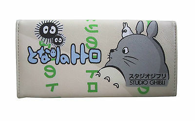Studio Ghibli My Neighbour Totoro Long Wallet Coins Purse Anime Bag Card Holder