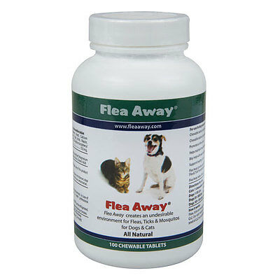 Flea Away, The natural flea, tick and mosquito repellent 100 Tablets