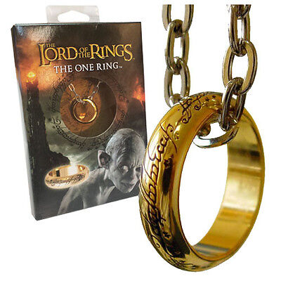 Lord of the Rings Ring The One Ring (gold plated) Size 10 (Unisex)