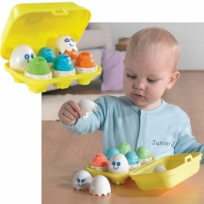 Tomy Hide And Squeak Eggs Baby's Educational Toy