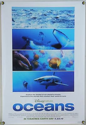 Oceans Ds Rolled Adv Orig 1Sh Movie Poster French Disney Nature Docu (2010)