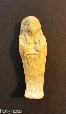 Antique Egyptian Mummy Clay Amulet / 300 Bc / Rare / #3