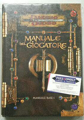 Dungeons & Dragons MANUALE DEL GIOCATORE 3.0 - MANUALE BASE I D&D