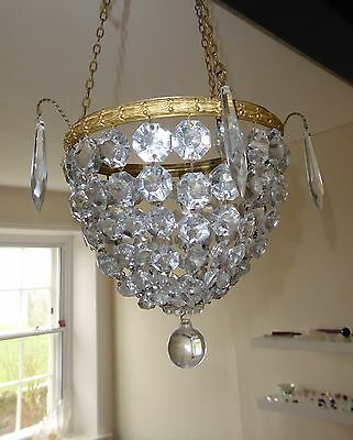 Pretty Basket Chandelier
