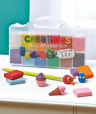 Creatibles DIY Erasers by International Arrivals 161-001 Erasers Craft Kit