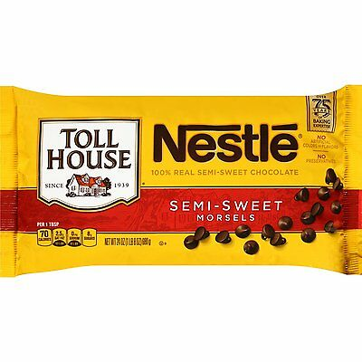 Nestle Toll House Semi-Sweet Chocolate Morsels Baking Chips ~ 24 oz.