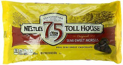 Nestle Toll House Semi-Sweet Chocolate Morsels Baking Chips ~ 36 oz.