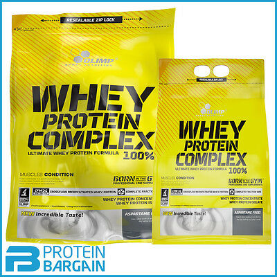 Olimp Whey Protein Complex 100% Pure Whey Concentrate! 600g, 700g & 2.27kg