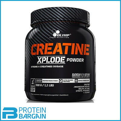 Olimp Creatine Xplode Powder - 500g - Various Flavours Available!!
