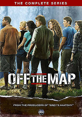 Off the Map: The Complete Series (DVD, 2011, 3-Disc Set) - NEW!!