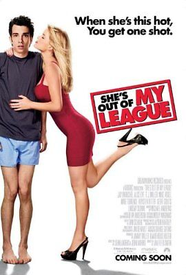 She's Out of My League Orig Movie Poster DblSided 27x40