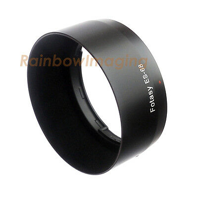 Flocking Bayonet Mount Lens Hood for CANON EF 50mm f/1.8 STM Lens replaces ES-68
