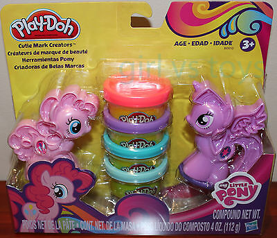 My Little Pony Play-Doh with Cutie Mark creaters