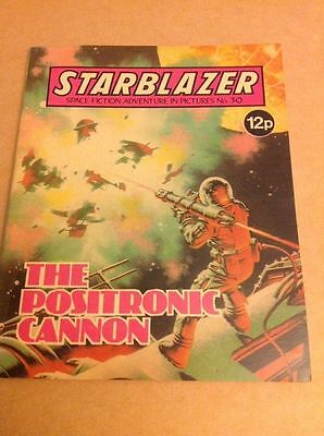 THE POSITRONIC CANNON - Starblazer Comic Issue 30