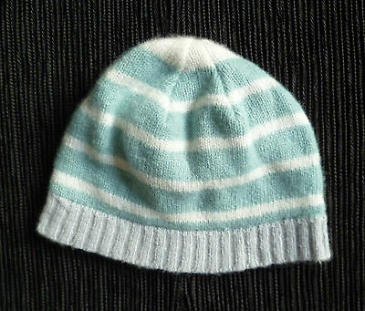 Baby clothes BOY 0-3m Baby Boutique super soft blue white grey hat SEE SHOP!