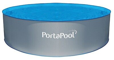 3.5m PortaPool Above Ground Pool with Pump & Filter And 2 step Ladder  RRP $2899
